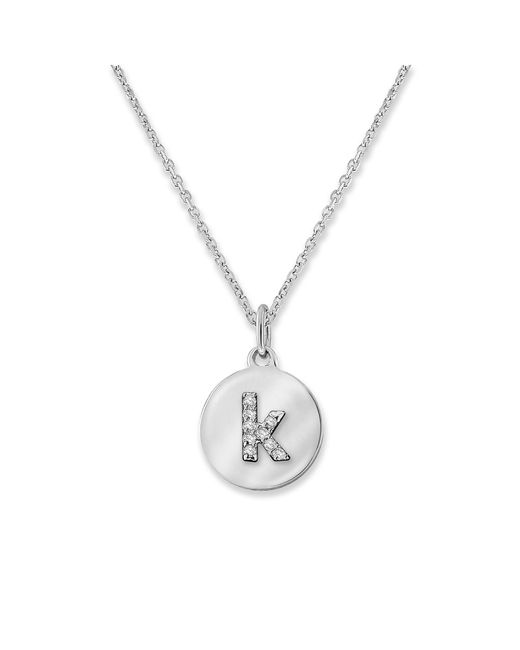 KC Designs | White 14k Gold And Diamond Lowercase Initial Necklace, K | Lyst