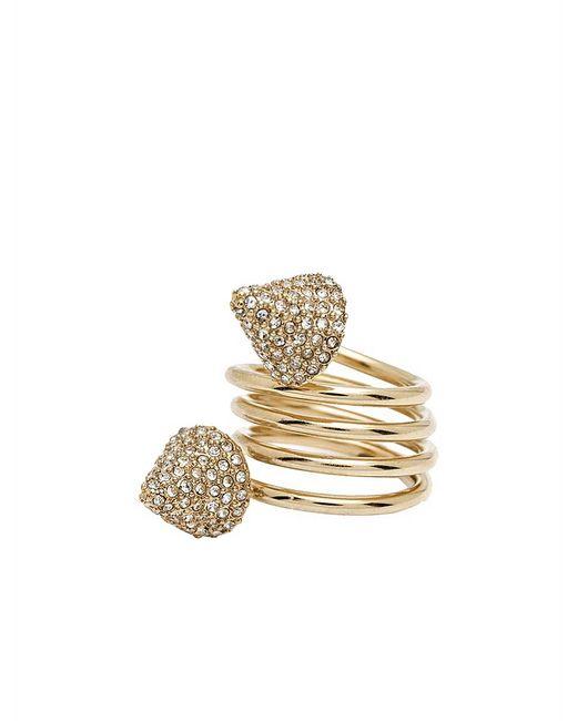 CC SKYE | Metallic Snake Spring Ring | Lyst