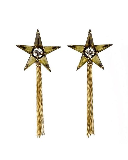 Nicole Romano | Metallic Rana Earrings | Lyst