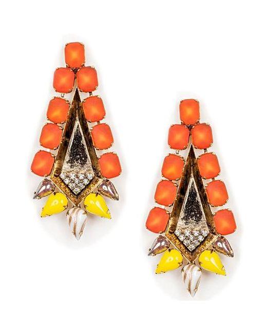 Nicole Romano | Multicolor Mani Earrings | Lyst