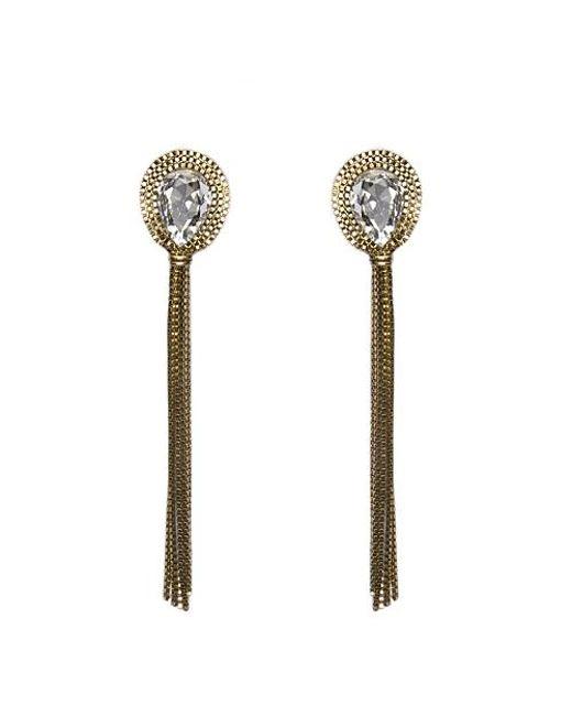 Nicole Romano | Metallic Gio Earrings | Lyst