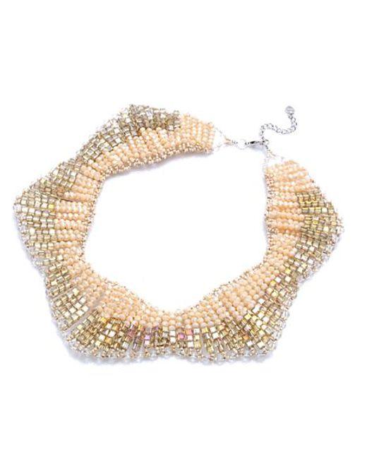 Nakamol | Multicolor Shooting Star Necklace-cream Crystal | Lyst