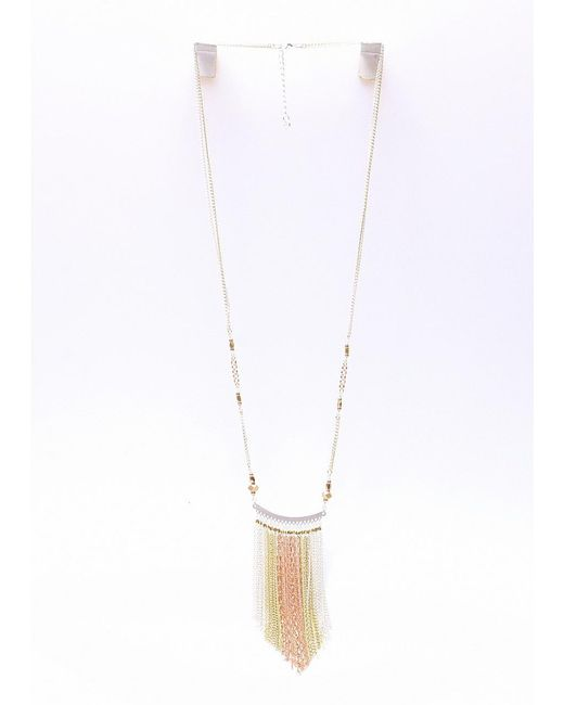 Nakamol | Multicolor Paloma Necklace-silver/gold/copper | Lyst