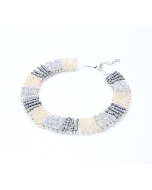 Nakamol | Multicolor Ravel Necklace-grey | Lyst