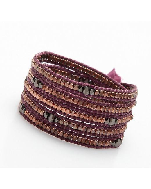 Nakamol | Multicolor Clovis Wrap Bracelet-copper/gunmetal | Lyst