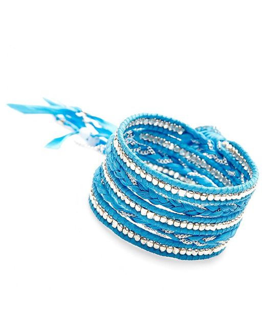 Nakamol | Multicolor Jhulier Wrap-silver/blue | Lyst