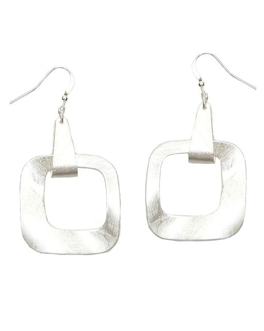 Nakamol   Multicolor Equilibrium Earrings-silver   Lyst