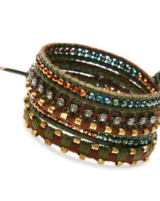 Nakamol | Multicolor Cassidy Wrap Bracelet-emerald | Lyst