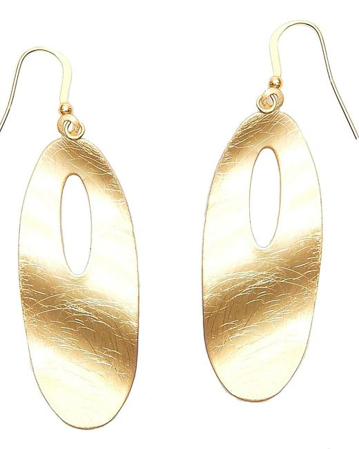 Nakamol | Multicolor Ripple Effect Earrings-gold | Lyst