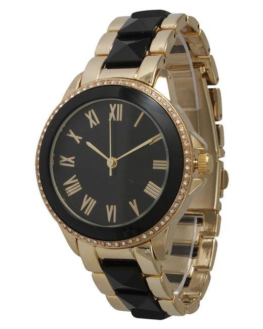 Olivia Pratt | Metallic Elegant Pyramid Stud Bracelet Watch | Lyst