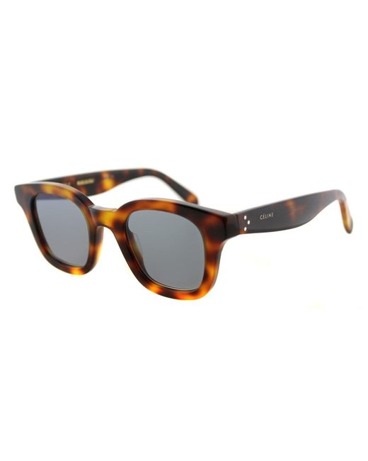 Céline   Gray 'shadow' Sunglasses   Lyst