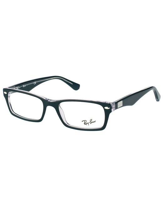 Ray-ban Rectangle Plastic Eyeglasses in Black Lyst