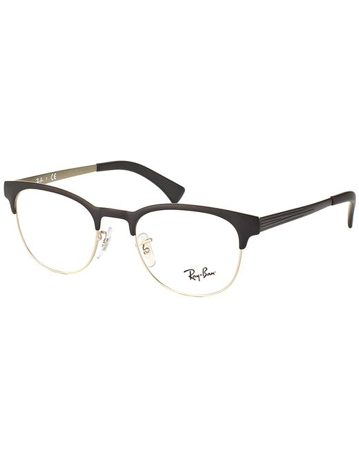 Ray Ban Clubmaster Glasses Frames : Ray-ban Clubmaster Metal Eyeglasses in Black Lyst