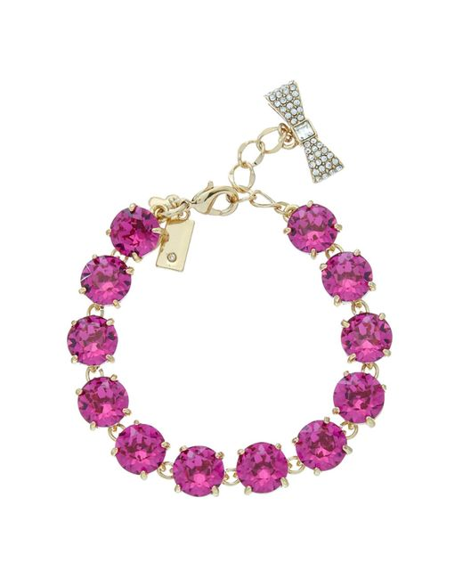 kate spade new york | Pink Fancy That Bracelet | Lyst