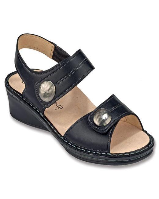 Finn Comfort | Gray 'alanya' Sandal | Lyst