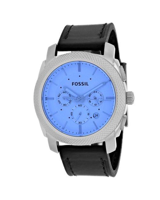 Fossil - Blue Men's Machine (fs5160) Watch for Men - Lyst