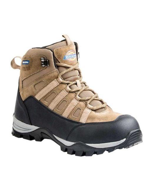 "Dickies - Brown Men's Escape 6"" Steel Toe Hiker Work Boot for Men - Lyst"