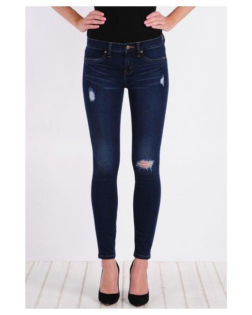 Henry & Belle | Blue Super Skinny Ankle Jean | Lyst