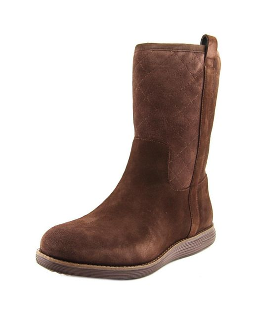 Cole Haan | Brown Roper Grand Boot | Lyst