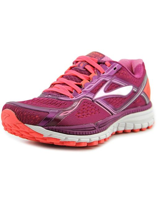 Brooks   Pink Ghost 8 Women Round Toe Synthetic Running Shoe   Lyst