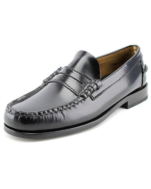Florsheim   Black Berkley B Moc Toe Leather Loafer for Men   Lyst