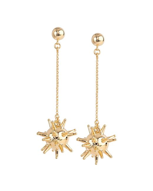 Lele Sadoughi | Metallic 14k Plated Drop Earrings | Lyst