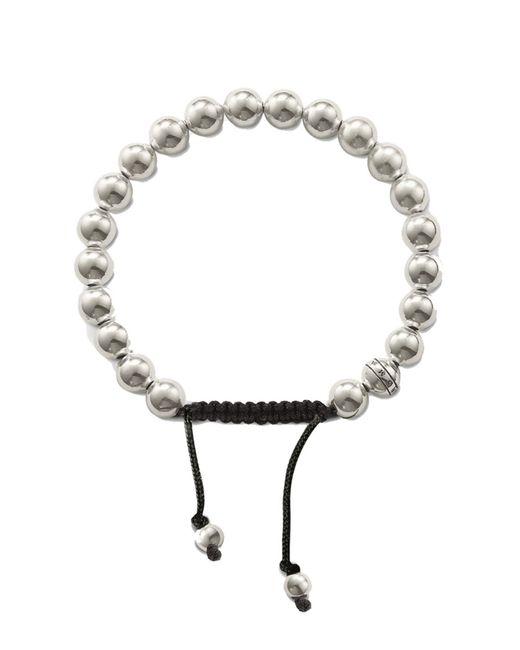 Thomas Sabo | Metallic Rebel At Heart Silver Bead Bracelet | Lyst