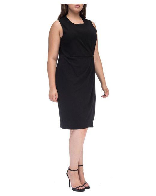 Bobeau - Black Capri Ponte Plus Size Dress - Lyst