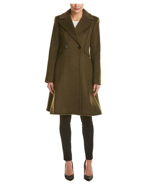 Dawn Levy | Green Venus Wool Coat | Lyst