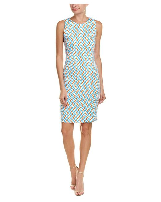 J.McLaughlin - Blue Catalina Cloth Sheath Dress - Lyst