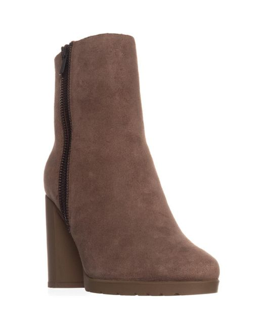 Tahari - Brown Elie Geneva Ankle Boots, Fongo Suede - Lyst