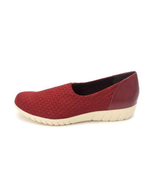 Munro - Red Womens Cruise Low Top Pull On Fashion Sneakers - Lyst