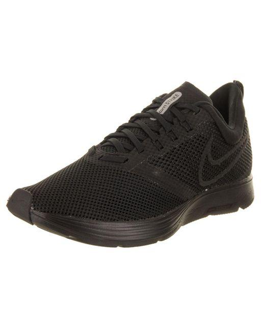 af145713f30 Nike - Black Women s Zoom Strike Running Shoe - Lyst ...