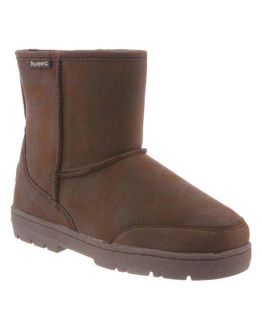BEARPAW   Brown Men's Patriot Solids Mid Calf Boot for Men   Lyst