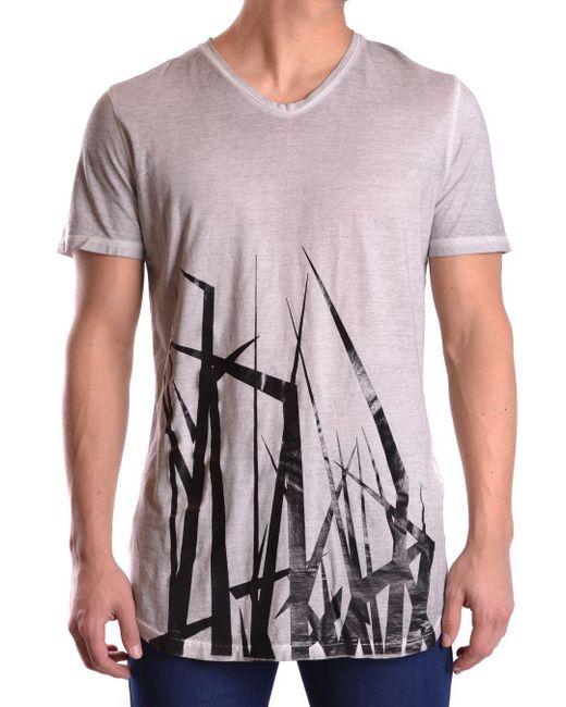 Tom Rebl - Men's White/black Cotton T-shirt for Men - Lyst