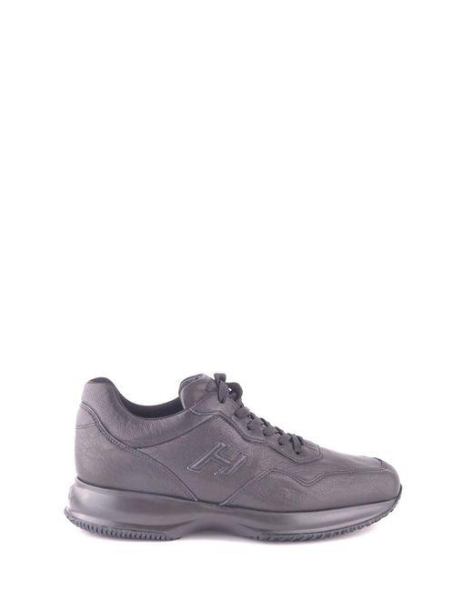 Hogan - Men's Mcbi148370o Black Leather Sneakers for Men - Lyst