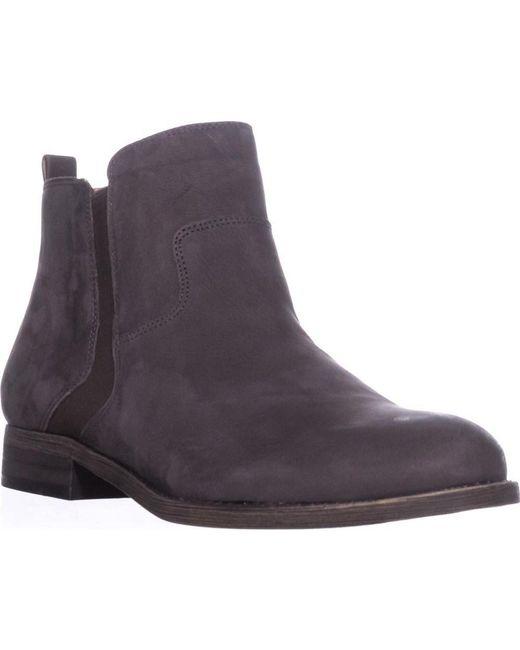 Franco Sarto - Gray Hampton Ankle Booties, Peat - Lyst