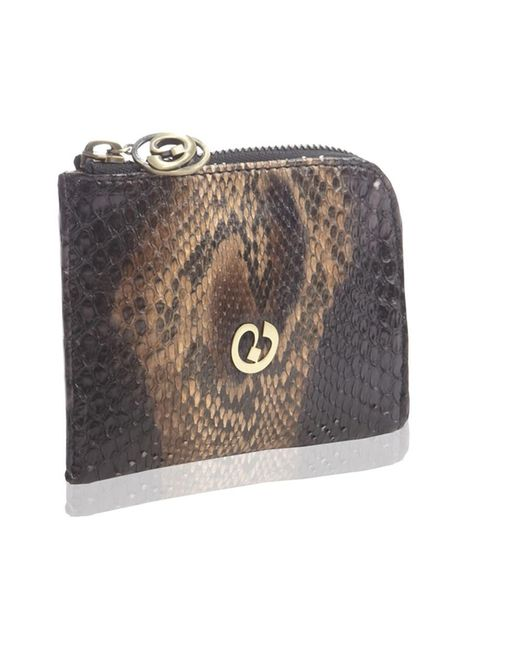 Nada Sawaya | Black Medium Zip Around Python Wallet | Lyst