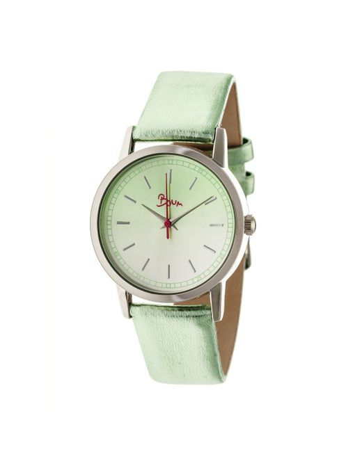 Boum - Green Ombre Color-fade Leather-band Ladies Watch - Lyst
