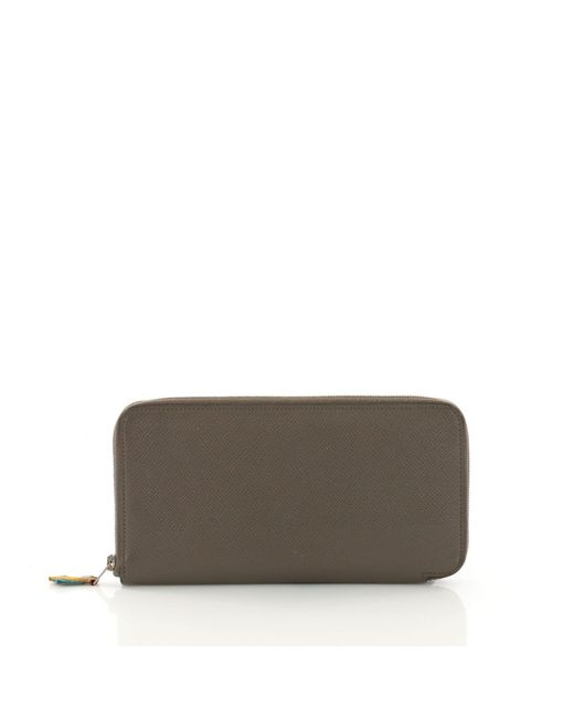Hermès - Multicolor Pre Owned Azap Zip Around Wallet Silk'in Epsom Long - Lyst