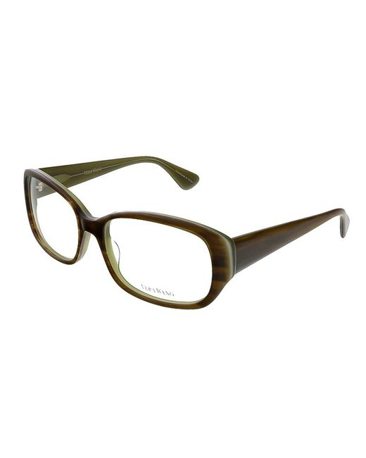 Vera Wang - Green Ve 04 Mo 54 Moss/tortoise Full Rim Womens Optical Frame - Lyst