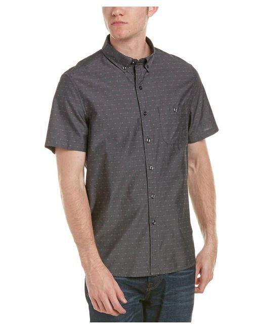Michael Bastian | Gray Label Woven Shirt for Men | Lyst