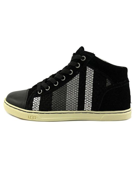 ade91ac5fbe Lyst - Ugg Womens W Taylah Hight Top Lace Up Fashion Sneakers in Black
