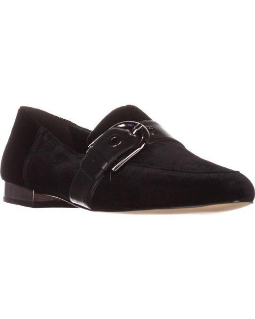 Michael Kors - Michael Cooper Slip-on Loafers, Black Valvet - Lyst