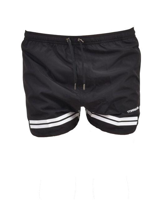 Neil Barrett - Men's Black Polyester Trunks for Men - Lyst