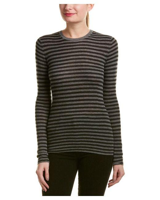 Vince - Multicolor Striped Cashmere Sweater - Lyst