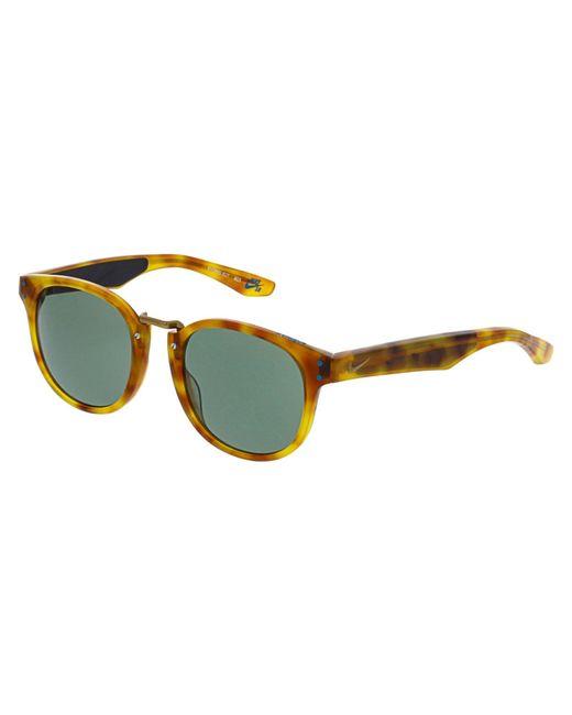 Nike - Women's Mirrored Achieve Ev0880-827 Brown Square Sunglasses - Lyst