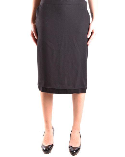 Moschino - Women's Black Acetate Skirt - Lyst