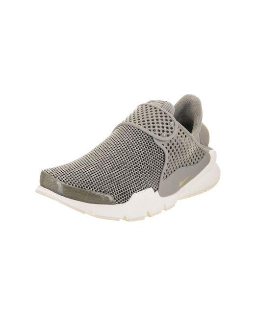 first rate de996 06bbe Nike   Gray Women s Sock Dart Se Running Shoe ...