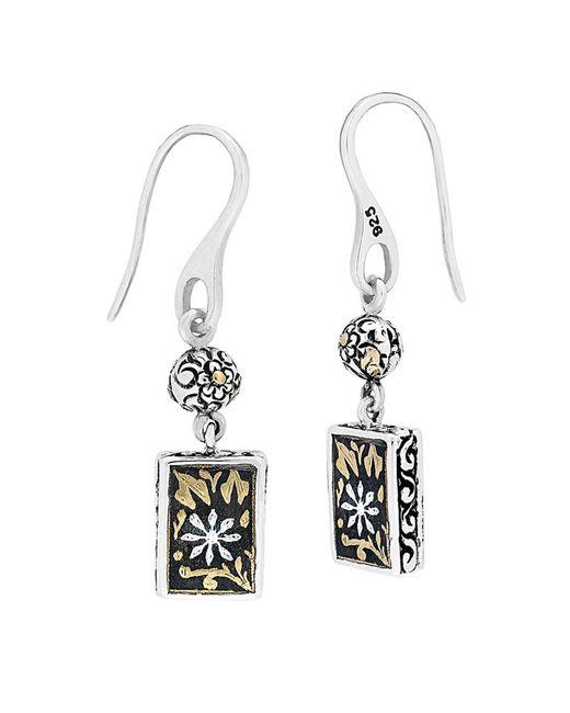 Lois Hill - Metallic 24k & Silver Drop Earrings - Lyst